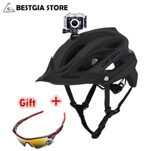 CAIRBULL MTB DVR Bicycle Helmet Sports&Action Video Camera Installable Cycling Helmet Mountain OFF-ROAD Bike Helmet BMX Casco