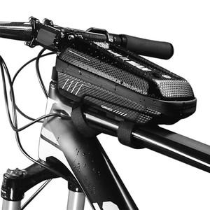 Bike Frame Bag Rainproof Bike Top Tube Bag Bicycle Bag Cycling Frame Pack with Double Zipper Design