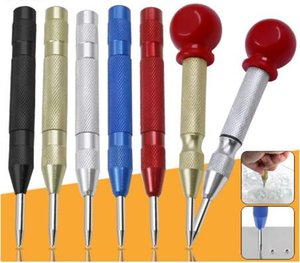 5-inch automatic center pin spring loaded mark center punch tool Location Drill Bit wood indentation mark woodworking tool bit