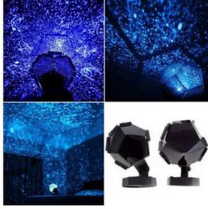 Celestial Star Astro Cielo Cosmos proyector ligero de la lámpara estrellada dormitorio romántico Decoración para el envío de la gota