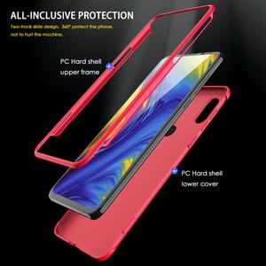 gros cas original pour Xiaomi Mi Mix 3 Slide cas Armure Anti-goutte 2 en 1 dur mat couverture pour Xiaomi mi mix3 Fundas de cas