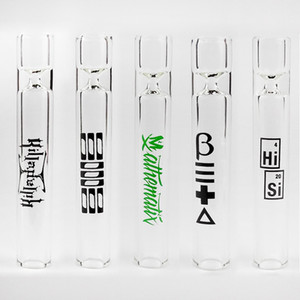 New Style Free Shipping Smoking Accessories Clear Glass Pipe Smoking Tube Pipe Cigarette Pipe For Tobacco Herb
