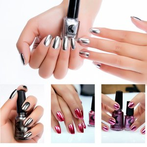 Spiegeleffekt Nagelgelpoliermittel Nail Art Metallic Silber Shinning Pigment Polituren Maniküre