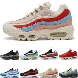 nike air max 95 shoes New Fashion Donna Uomo Scarpe da corsa Laser Fucsia Alzavola Nebulosa Splatter TT Pull Tab Aqua Neon Uva Uomo Sneakers Sport 36-46