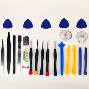 Cross border 22 piece screwdriver set for Apple iPhone mobile notebook repair and disassembly tool