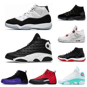 air jordan 2020 11 11s 13s para hombre de los zapatos de baloncesto inversa Una mala jugada Concord 45 Zapatos Rojo universitario 4s XI deporte de los hombres 7-13