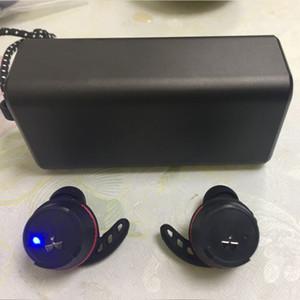 سماعات الرأس العلامة التجارية U A TRUE Wireless Flash TWINS سماعات الرأس مع مربع شاحن سماعات رأس بلوتوث ستيريو حقيقي