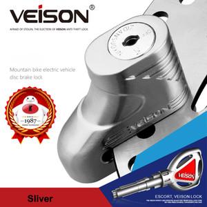 Robo VEISON 5 mm Pin de la motocicleta de Moto Moto rotor de disco de bloqueo Protección de frenos de bloqueo antirrobo de la motocicleta candado antirrobo