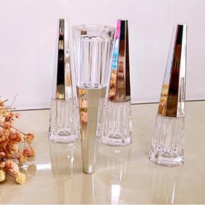 3pcs 6ml 0.2oz Travel Lip Gloss Container Empty Lipstick Tube Liquid Eyeshadow Jar Durable Refillable Bottles Reusable