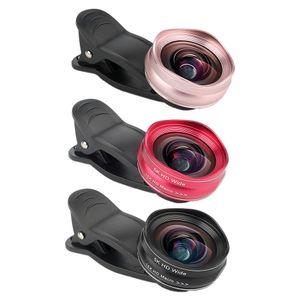 2 인치 1 인치 범용 휴대 전화 렌즈 2 개 1 대 5k HD 광각 렌즈 미니 버드 모양의 휴대 전화 SLR 렌즈