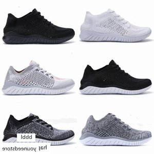 2020 Free Rn Fly Knitting Trainers Men Cushion Designers Sneakers Male Black Sports Athletic Hiking Jogging Shocks Women Outdoor shoes 36-45