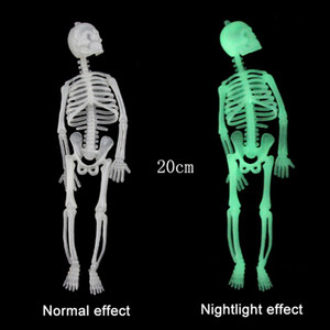 Horreur lumineux amovible de crâne Squelette Hallowmas EVE Night Lights Props Halloween Décoration Bar KTV Festival Party Supplies