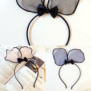 B055 cute big bow hair Butterfly hairband sweet children's hair accessories rabbit ears super cute headband hair-pressing women