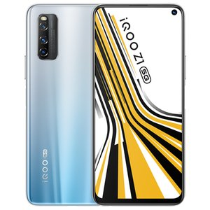 "Original VIVO iQOO Z1 5G LTE Handy 6 GB RAM 128 GB ROM MTK 1000 Plus Octa Kernandroid 6,57"" 48.0MP Wake Face ID Fingerabdruck-Handy"
