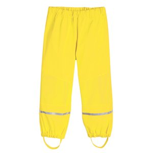 New Spring Girls Boys Rain Pants Children Clothes Kids PU Leather Raincoats Poncho Waterproof Windproof Breathable Outdoor Pants Y200704
