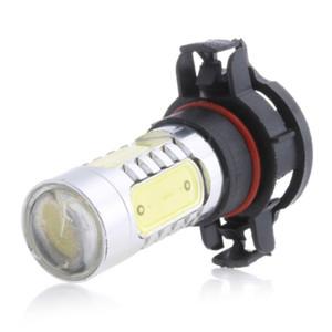 New 1PC White H16 COB 5 LED Projector Bulbs For Fog Lamp Lights Car Light Source