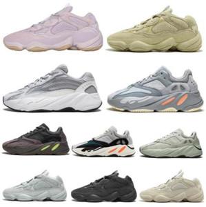 Chegada Macio Visão pedra Desert Rat 500 700 Shoes osso 500s brancas Utility Black Salt lua super Mens amarelo formadores sneakers esporte ao ar livre