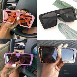 Урожай большой площади Солнцезащитные очки Женщины Крупногабаритные Дизайнерская ВС Очки Женский охладиться Lady Солнцезащитные очки Оттенки UV400