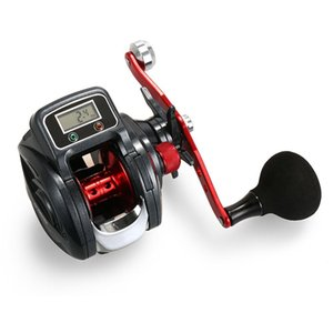 16 + 1 Kugellager links / rechts Angelrolle mit Digitalanzeige Baitcasting Zähler Reel 6.3: 1 Casting Reel Fishing gear