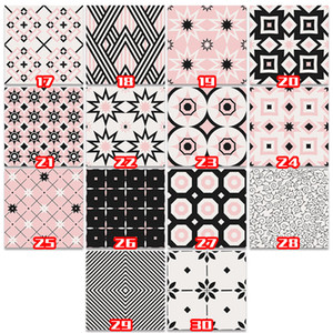 Stickers muraux Multi-Types Types auto-adhésifs PVC Papier en PVC Papier Brique Pierre d'écran Pierre Rustique Effet Home Decor Autocollant pour la chambre