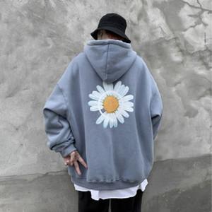 Mode-Mann-Winter loser Hoodys Mens Harajuku verdicken warmer Mantel Hoodies Männer Aufmaß Pullover Sweatshirt