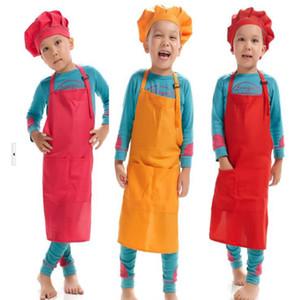 Infantil para niños de fricción Delantales Niños Niñas que cocinan la pintura Herramientas del arte babero delantal de limpieza del hogar cocina LXL823Q