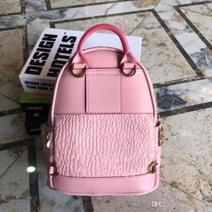 New Fashion Korean Punk Rivet Backpack Men's and Women's Backpack Student Travel Backpack Four Colors for Super Mini Size 31