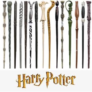 Kutusu HHA-758 Harry Potter Sihirli Değnek Cadılar Bayramı Cosplay Dikmeler Horwarts Reçine Olmayan aydınlık Dumbledore Malfoy Hermione Büyülü Wand