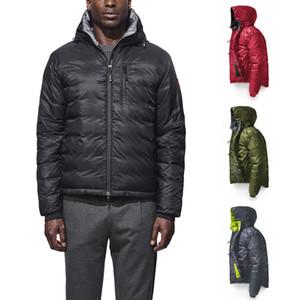 Yüksek kaliteli 2019-202 kanada erkekler Köşkü kapüşonlu kaz tüyü ceket Açık Spor parka Casual Kıyafet Erkek paltosu DHL ücretsiz gönderim