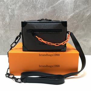 M44480 Цветок Симметричного Магистральные Box сумка из натуральной кожи Mini Bucket плечо сумки Женщина моды сумка сумка Крест тело
