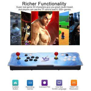 2018 [1500 HD] Arcade Video Game Console Retro Games Plus Arcade Machine Double Arcade Joystick مع مكبر صوت للتبريد الساخن بيع