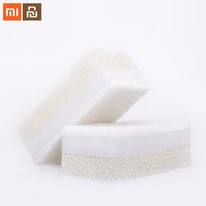 Xiaomi Youpin JieZhi Three-Layer Composite Dishwashing Brush Kitchen Sponges Household Cleaning Eco- Friendly Scouring Pads 6pcs 3010260C3