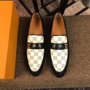 Yeni Lüks Marka Tasarımcıları Erkekler Glitter Rahat Medusa Ayakkabı adamın Resmi Elbise Ayakkabı Damat Homecoming Düğün Hediyesi için