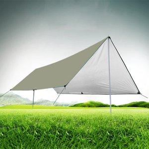 Tent impermeável Camping Mat 3 * 4M Colchão Outdoor pano multifunções Toldo Tarps Canopy Picnic Mat Mats chão