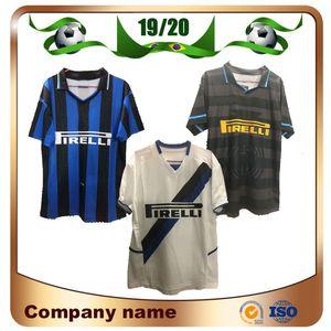 97 98 Milan Retro version soccer jersey 1997 1998 home #10 BAGGIO #9 RONALDO Soccer shirt 02 03 Away White football uniform sales