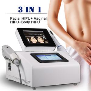 2020 NUOVI 3 in 1 HIFU vaginale corpo macchina di ringiovanimento della pelle di sollevamento macchina faccia dimagrimento attrezzature salone di bellezza