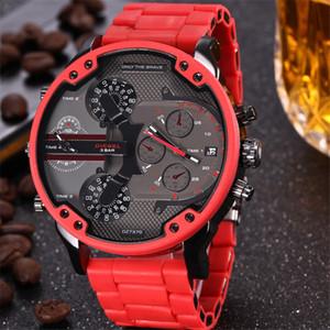 7332 DZ4318 Invicta lüks adam yeni gelenler tüm paslanmaz çelik moda erkekler büyük arama iş dizel saatler saatler askeri DZ saatler