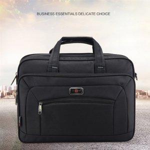 """Arquivos qualidade Durable Oxford Homens Carteiras dos homens de negócios Bolsas Waterproof 15.6"""" Laptop sacos Mulheres Shoulder Bag Books"""