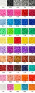 1000pcs 5mm EVA Hama Perler Korn-Spielzeug Kids Fun Fertigkeit DIY handmaking Fuse Bead Multicolor Kreative Intelligenz Lernspielzeug C6313