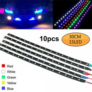 LED Strip Lights RGB LED Light Strip SMD Flexible Light String for Bike Motor Home Lighting Indoor Outdoor Decoration