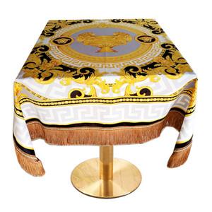 Antivegetativa High-end panno di casa tovaglia runner nappa stile di moda di lusso mobili europei tappezzeria
