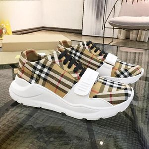 Burberry shoes Xshfbcl Ayakkabı Moda Vintage Pamuk Sneakers Casual Luxury Zapatos de hombre Bayan Ayakkabı Moda Sneakers Xshfbcl size36-45 edin
