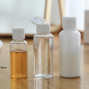 Konteyner Şişe Dağıtıcı Şampuan Losyon sıkın Kavanoz Plastik Şeffaf Makyaj Seyahat Doldurulabilir Şişe KKA7765 boşaltın 30ml