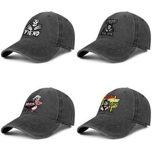 Misfits Horror hombre y mujeres de negocios Patch gorro de mezclilla campo de la tapa diseñador diseño originaldesign su propia moda sombreros de béisbol demonio