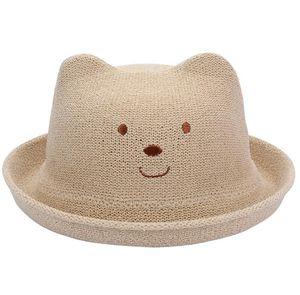 Primavera e verão chapéu de crianças menino menina chapéu de sol viajar chapéu de praia