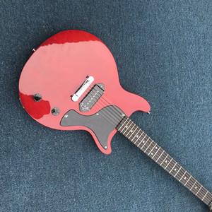 Custom Shop Junior E-Gitarre orange-Qualitäts-OEM China-Gitarre Bester Verkauf, freies Verschiffen