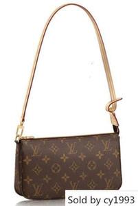Pochette Accessoires M40712 della moda di New donne mostra spalla Totes Borse Top Manico Croce Body Messenger Bags