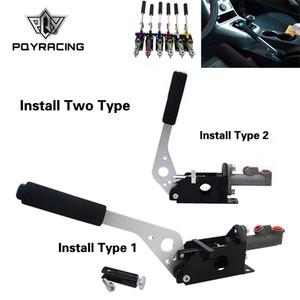 PQY - Universal hydraulique de frein à main E-frein verticale / dérive horizontale pour Honda Civic 2/3 / 4Dr 1992-1995 PQY3632
