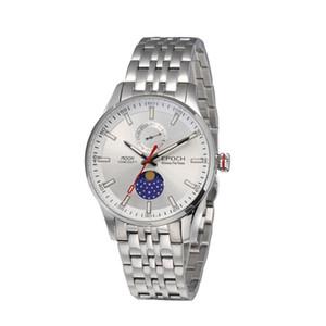 orologio trizio uomini, fasi lunari orologi d'epoca mens T25 vestito luminoso impermeabile orologio da polso al quarzo analogico relogio masculino 6021GS T200409