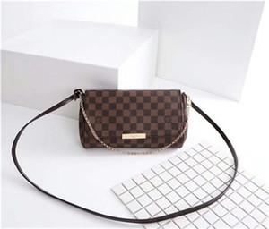 2020 Frete grátis! Hight qualidade couro genuíno Handbag Mulheres Shoulder Bag 40718 favorito bolsa mm verdadeiro couro 40717